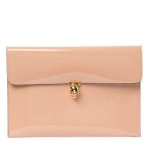 Alexander McQueen envelope bag clutch NWT $700